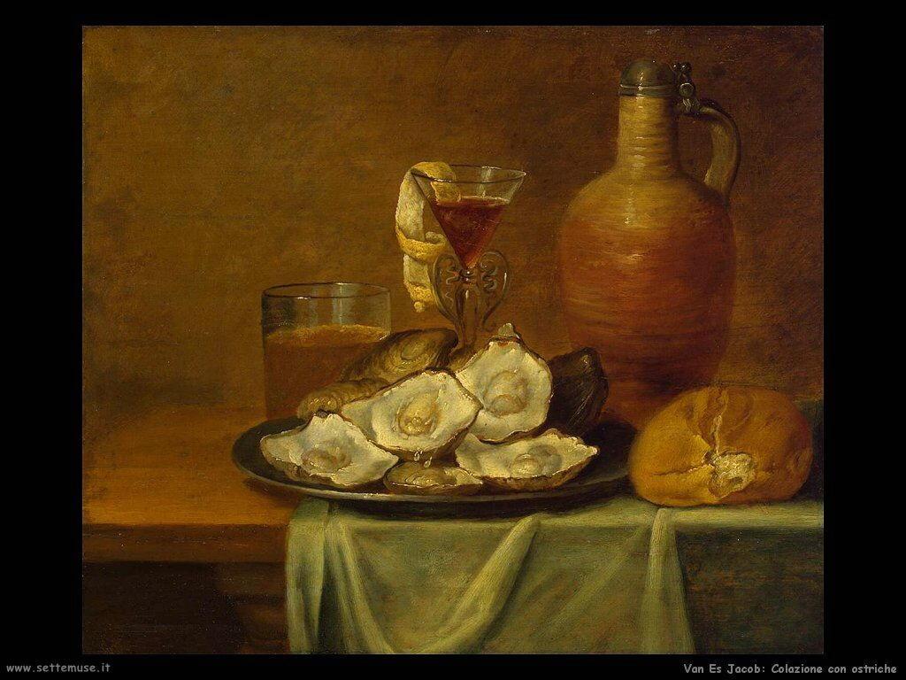 Van Es Jacob Colazione con ostriche