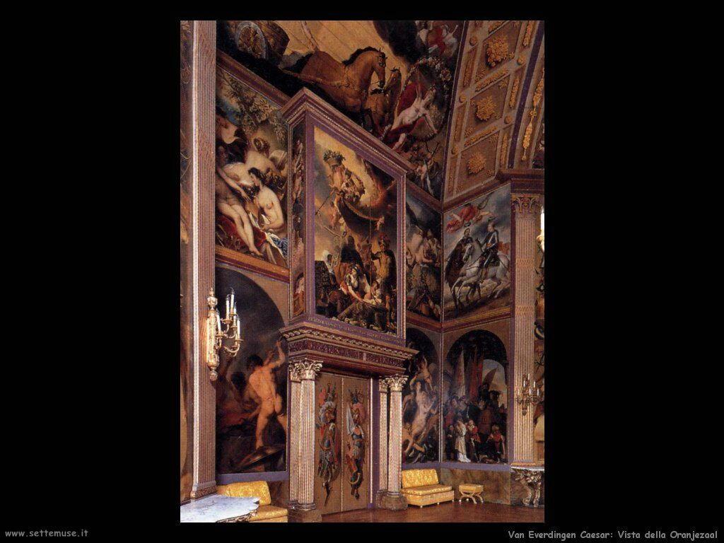 Vista sulla Galleria Van Everdingen Caesar