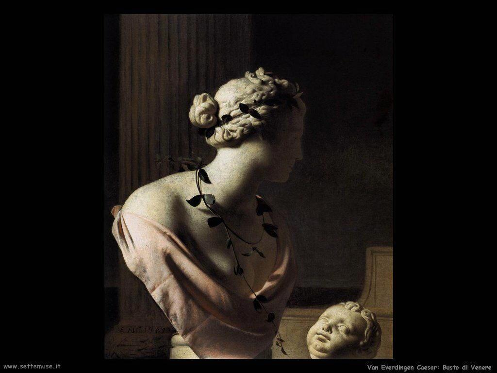 Natura Morta con busto di Venere Van Everdingen Caesar