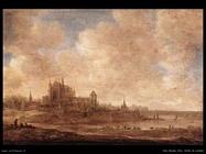 Vista su Leiden Van Goyen Jan