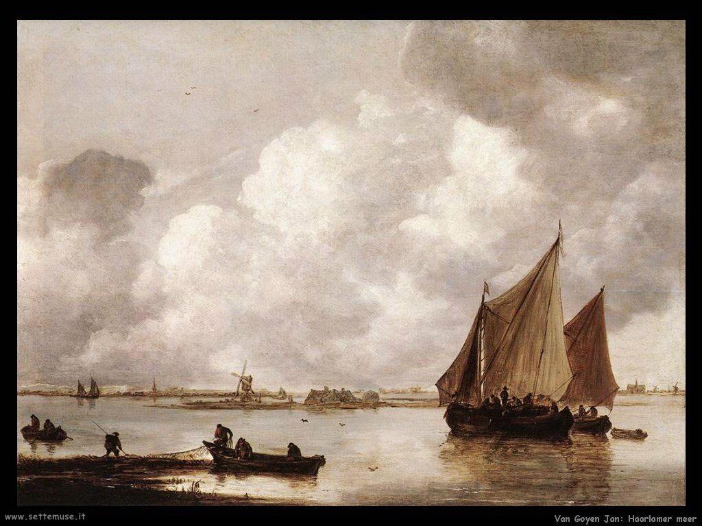 Il mare di Haarlem Van Goyen Jan