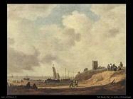 Riva del mare a Scheveningen Van Goyen Jan