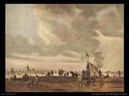 Vista dell'Aia in inverno Van Goyen Jan