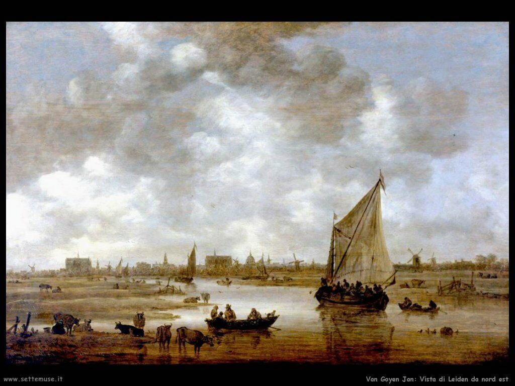 Vista di Leiden da Nord-Est Van Goyen Jan