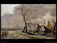 Paesaggio invernale Van Goyen Jan