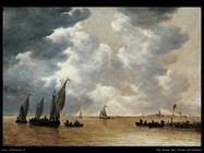 Scena su un estuario Van Goyen Jan