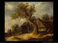 Paesaggio con quercia Van Goyen Jan