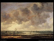 Vista sul Largo davanti ad Haarlem Van Goyen Jan