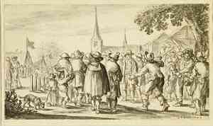Illustrazione di Jan van Goyen
