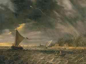 Pittura di Jan van Goyen