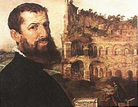 Autoritratto di Maerten van Heemskerck