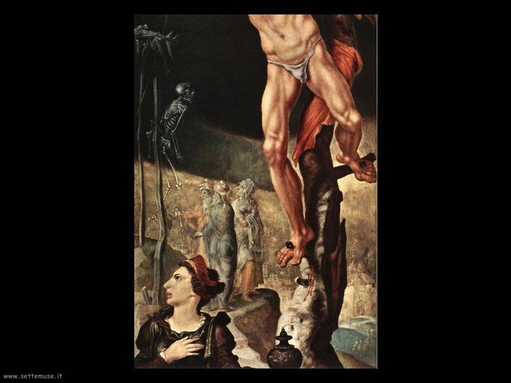 Crocifissione (particolare) Van Heemskerck Maerten