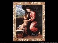 Madonna con Bambino Van Hemessen Jan Sanders