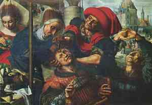 Pittura di Jan Sanders van Hemessen