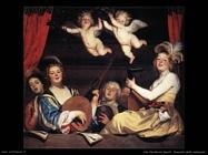Concerto sul balcone Van Honthorst Gerrit