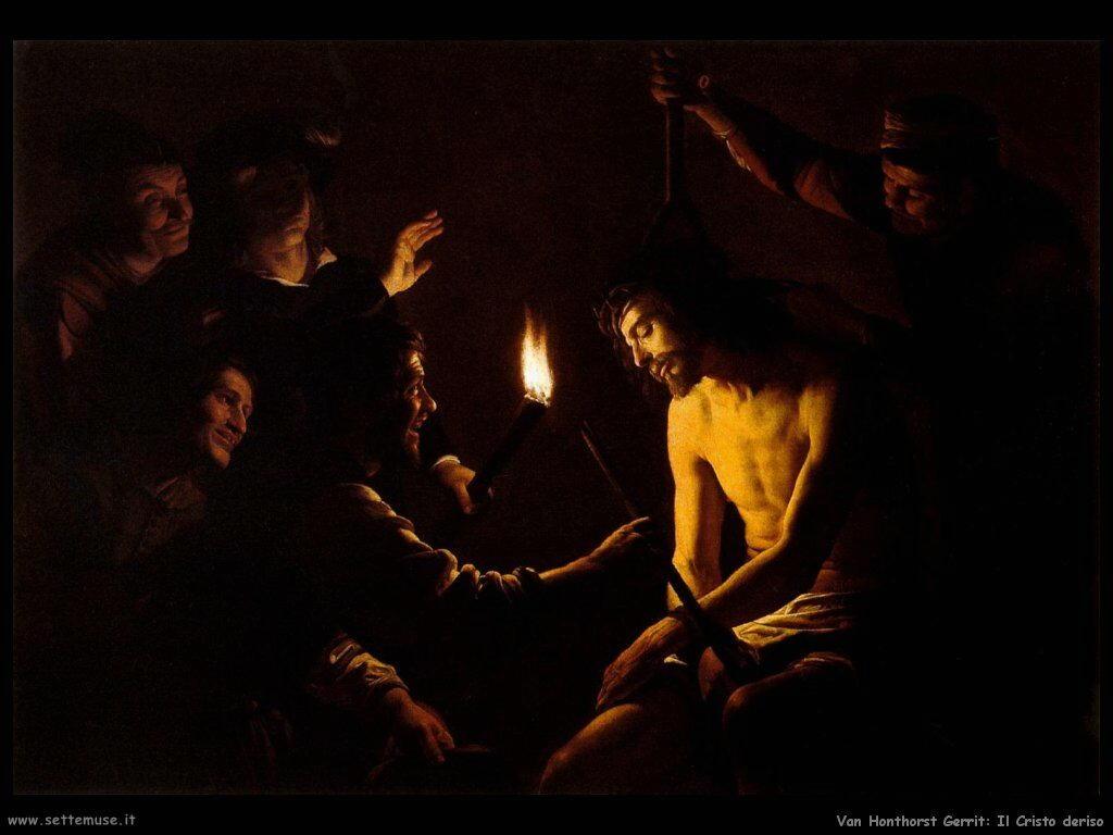 Cristo deriso Van Honthorst Gerrit