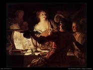 L'Allegra compagnia Van Honthorst Gerrit