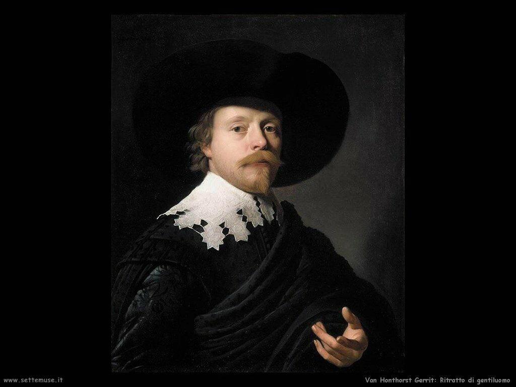 Ritratto di Gentiluomo Van Honthorst Gerrit