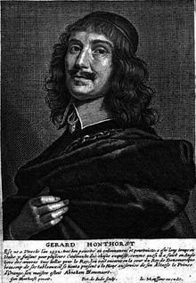 Autoritratto di Gerard van Honthorst, detto anche Gerrit van Honthorst
