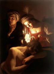 Pittura di Gerard van Honthorst, detto anche Gerrit van Honthorst