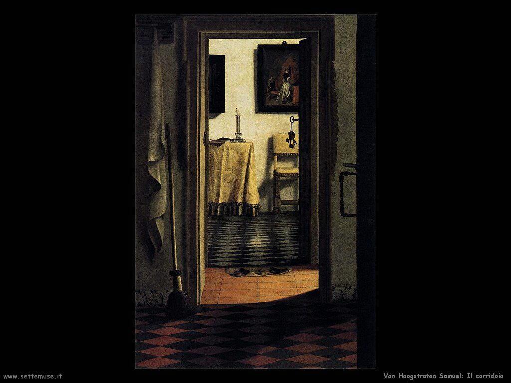 Van Hoogstraten Samuel Vista dal corridoio