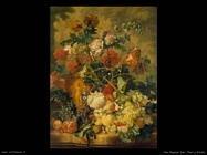 Van Huysum Jan Fiori e frutti