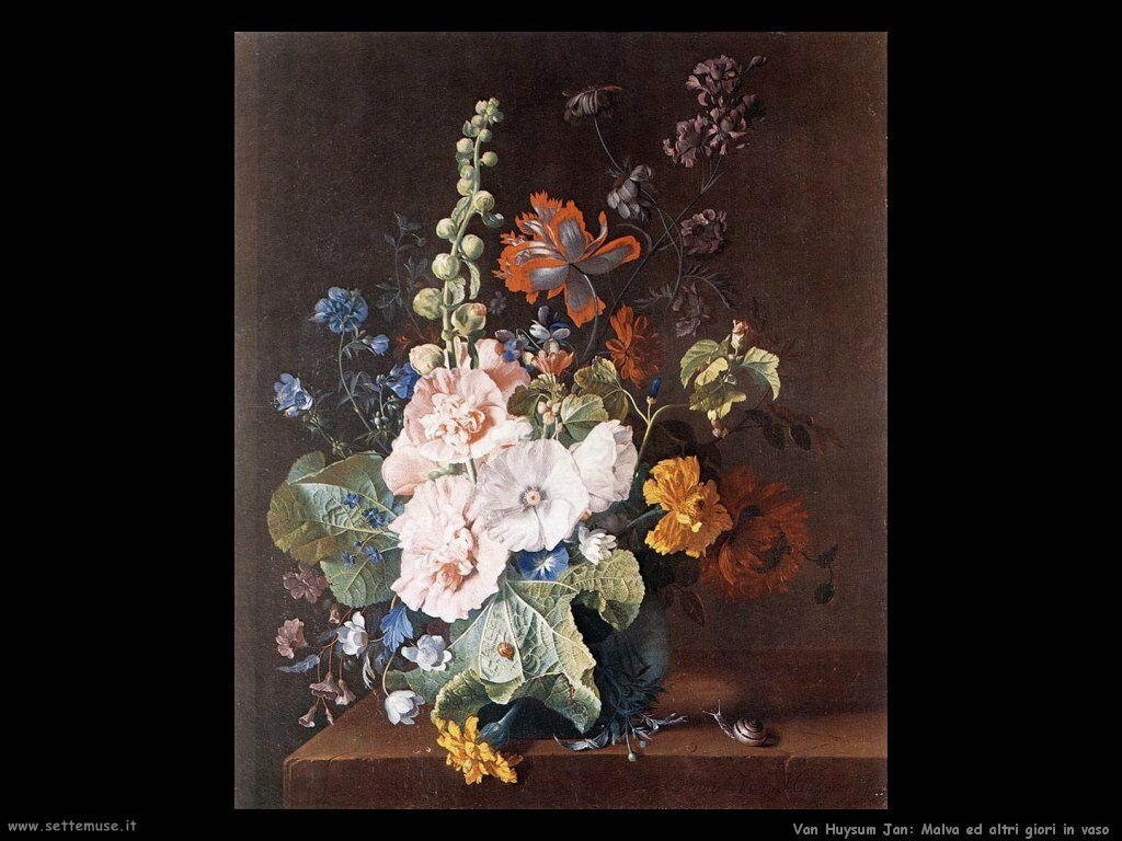 Van Huysum Jan Fiori in vaso