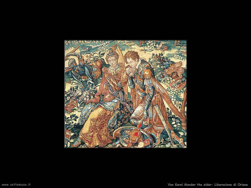 Van Karel Mander the Elder Liberazione di Oriana