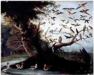 Dipinto di Jan van Kessel