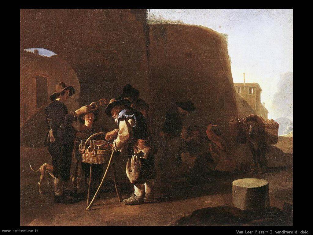 Van Laer Pieter Il venditore di dolci