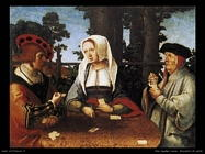 Giocatori di carte Van Leyden Lucas