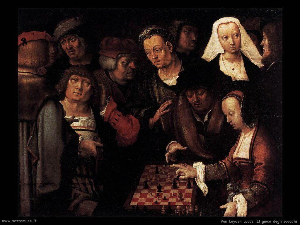 La partita di scacchi Van Leyden Lucas