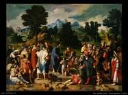 Cristo guarisce il cieco Van Leyden Lucas