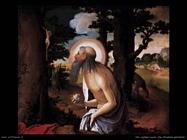 San Gerolamo penitente Van Leyden Lucas
