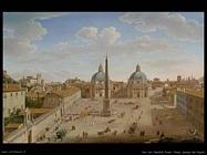 Van Lint, Hendrik Frans Roma, piazza Del Popolo