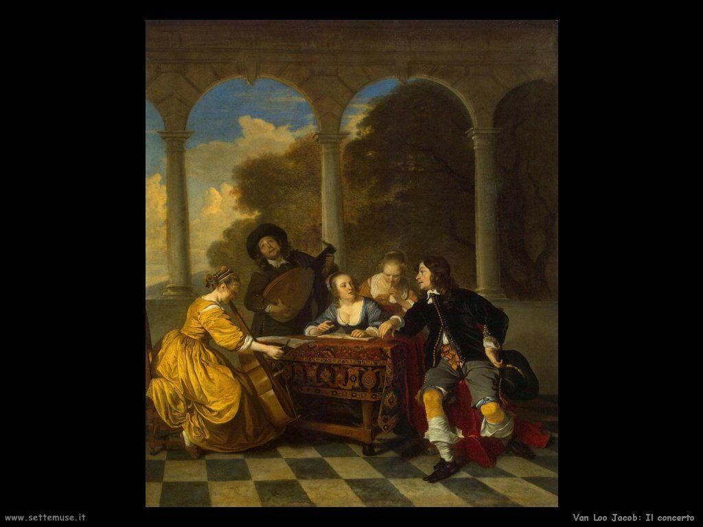 Van Loo, Jacob Concerto