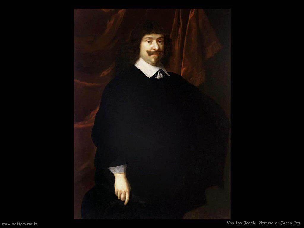Van Loo, Jacob Ritratto di Johan Ort