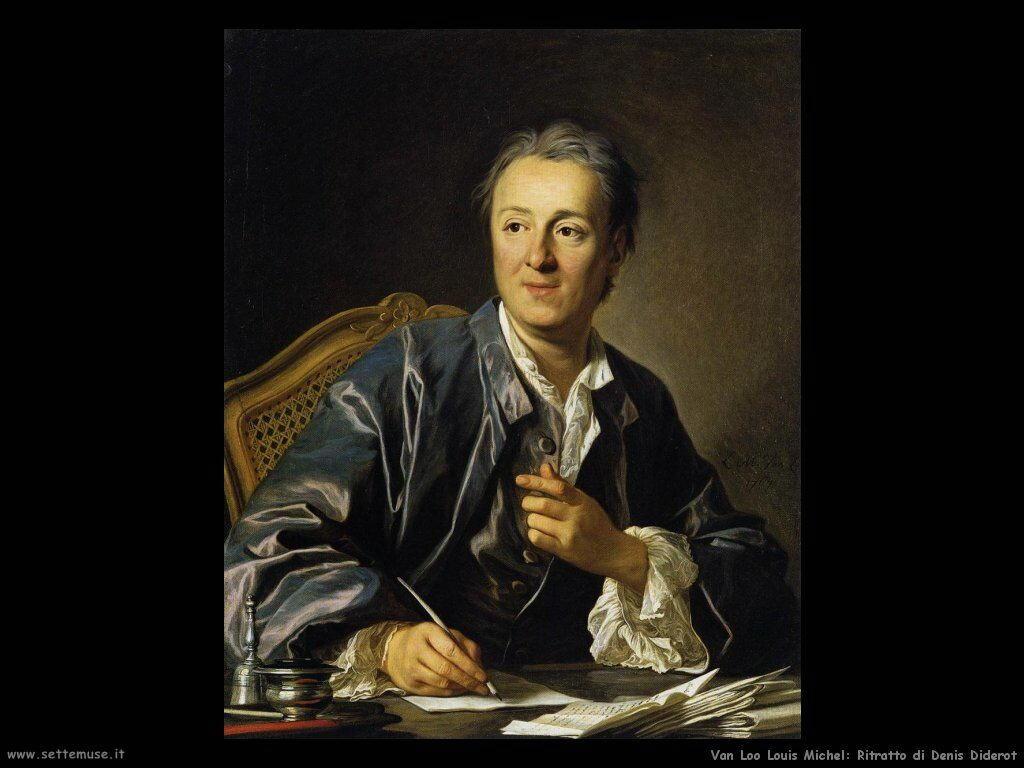 Van Loo, Louis Michel Ritratto di Denis Diderot