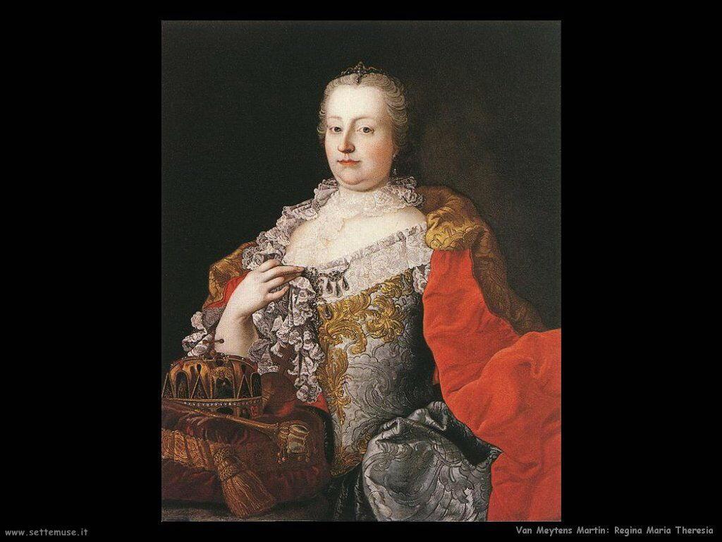 Van Meytens, Martin Regina Maria Teresa
