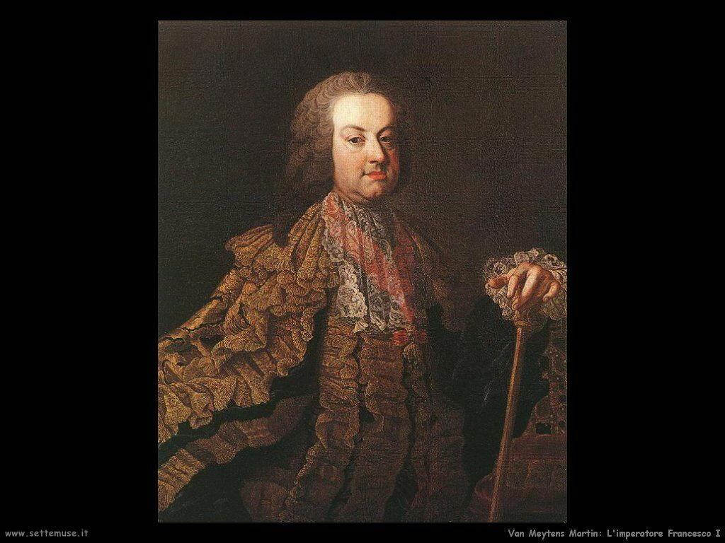 Van Meytens, Martin Imperatore Francesco I