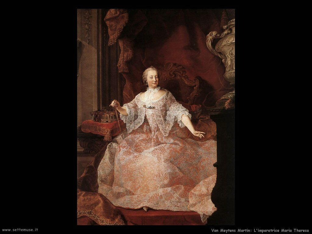 Van Meytens, Martin Imperatrice Maria Teresa