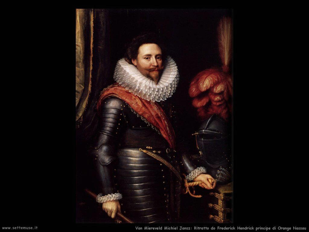 Van Miereveld, Michiel Jansz Frederick Hendrick principe di Orange Nassau