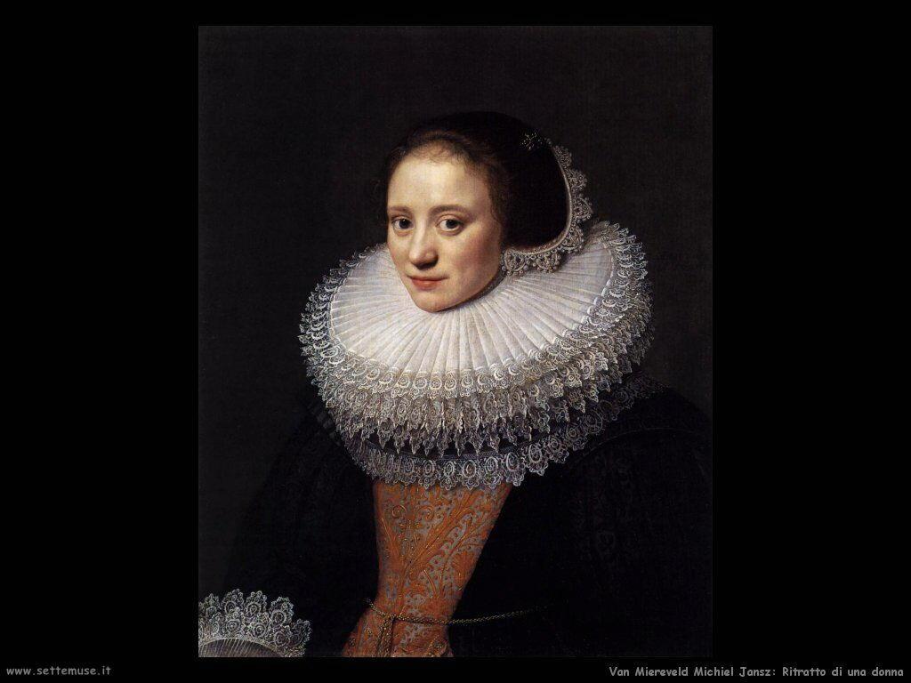 Van Miereveld, Michiel Jansz Ritratto di signora