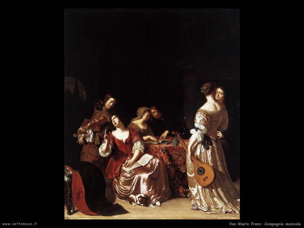 Gruppo musicale Van Mieris Frans the younger