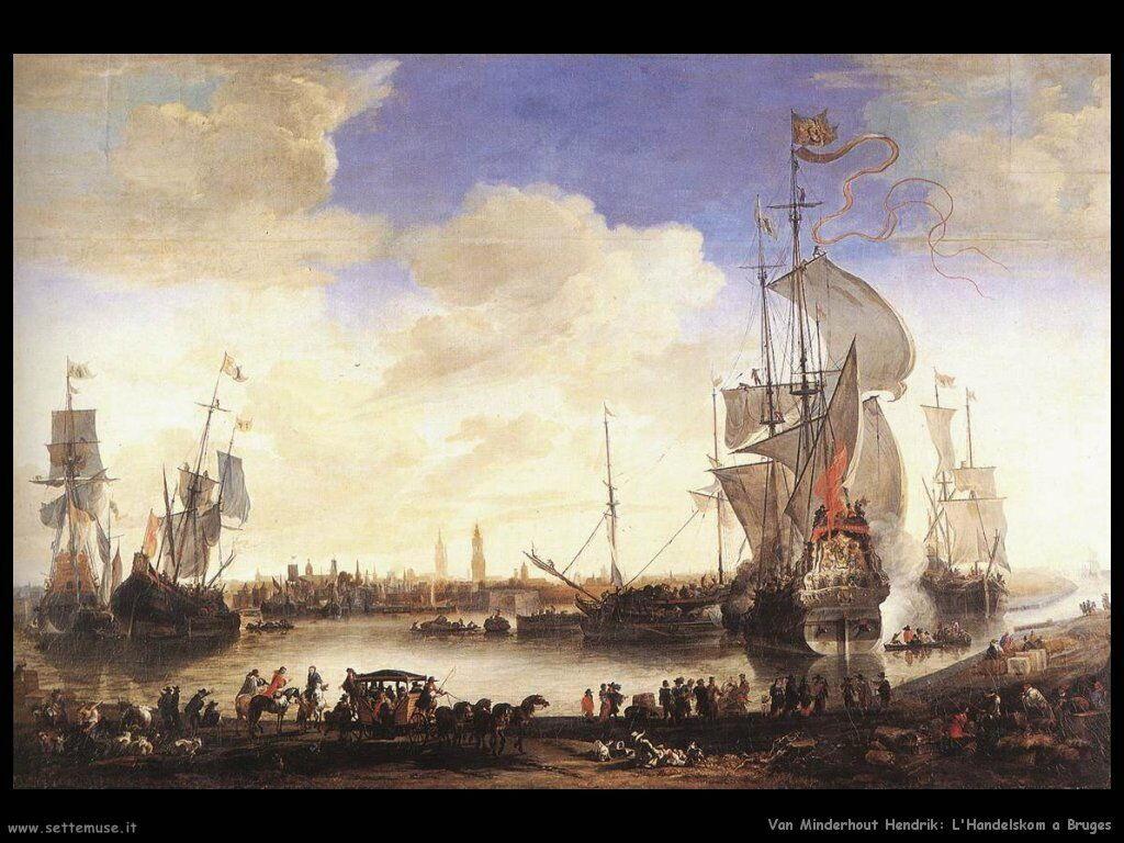 Van Minderhout, Hendrik  L'Handelskom a Bruges