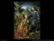 Van Oostsanen, Jacob Cornelisz Cristo appare a Maria Maddalena