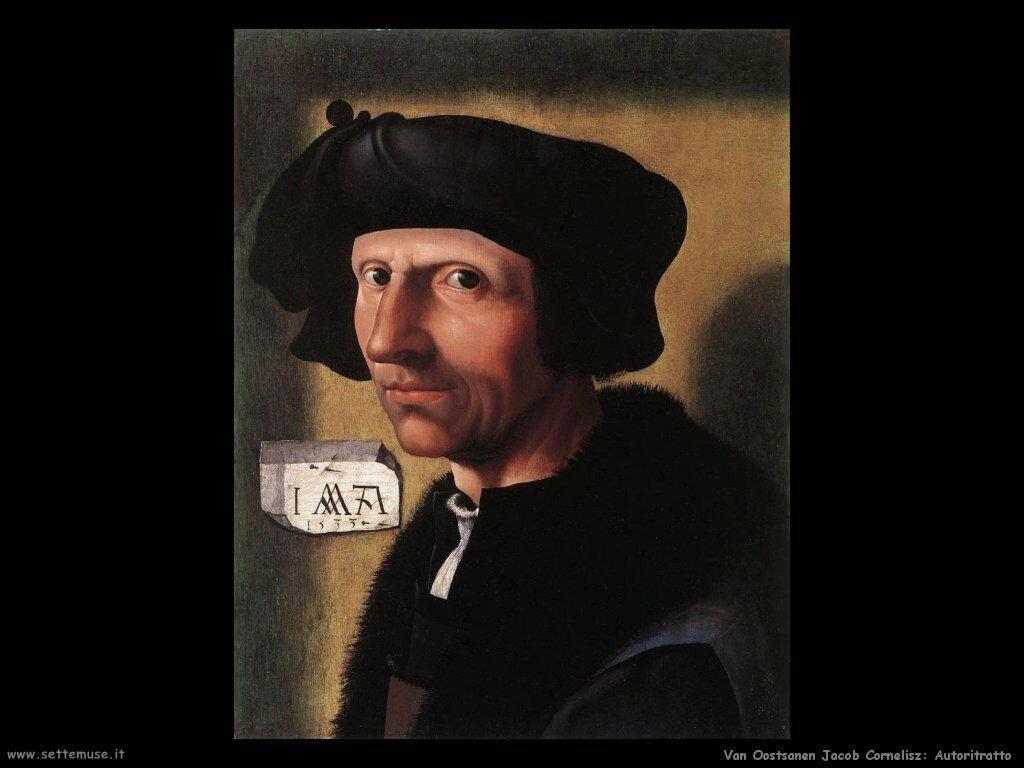 Van Oostsanen, Jacob Cornelisz Autoritratto
