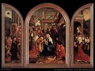Van Oostsanen, Jacob Cornelisz Trittico dell'adorazione dei Magi