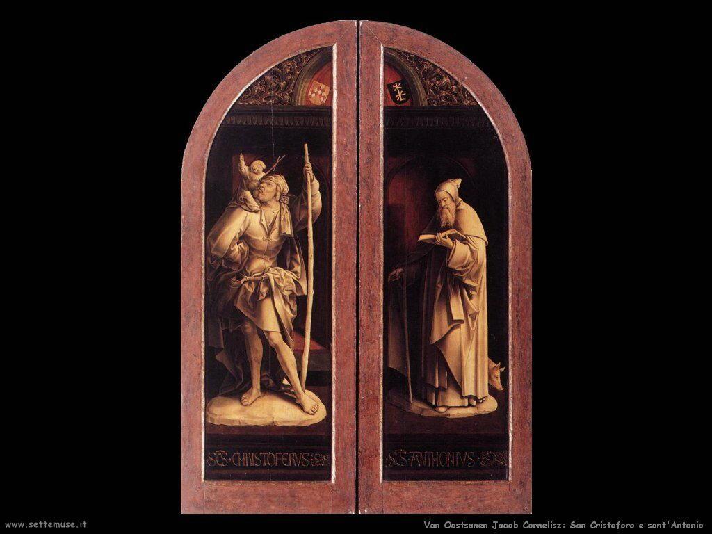 Van Oostsanen, Jacob Cornelisz Santi Cristoforo e Antonio