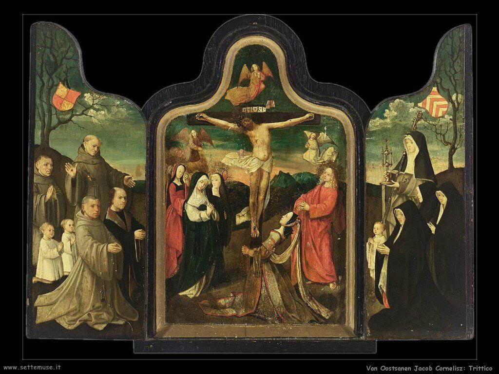 Van Oostsanen, Jacob Cornelisz Trittico